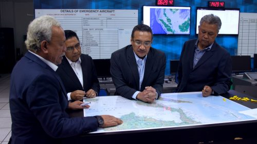MH370 - Situation Room Group Shot 1